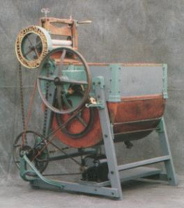 Description: Thor drum-type washing machine, ca. 1908